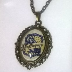Брелок Harry Potter Hufflepuff 4х3 см.