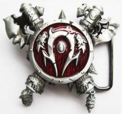 Пряжка World of Warcraft Horde (Застёжка для ремня)