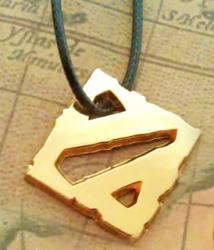 Медальон  Dota 2 (цвет золото)