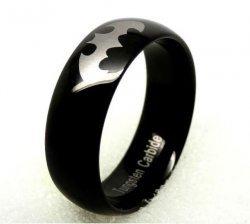 Кольцо Batman Logo Metal 10 мм