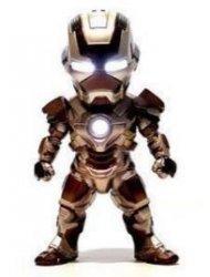 Мини фигурка с подсветкой - Iron Man №5