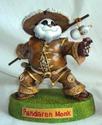 World of Warcraft Pandaren Monk Tribe Action Figure